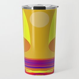 Hot Summer with May in May - shoes stories Travel Mug