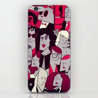 rocky horror iPhone & iPod Skins featuring The Rocky Horror Picture Show by Ale Giorgini