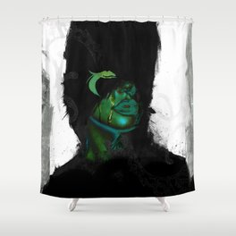 Find your vibe Shower Curtain