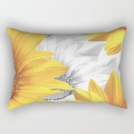 Sunflower Bouquet #decor #society6 #buyart Rectangular Pillow