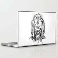 goat Laptop & iPad Skins featuring Goat by Sarah Mosser