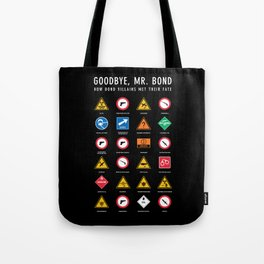 Goodbye, Mr. Bond Tote Bag