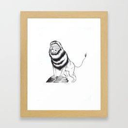 Prince Lion Framed Art Print
