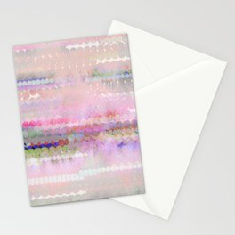 pastel pink pattren Stationery Cards