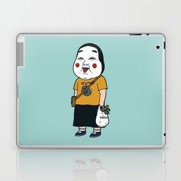 Joyful Girl Laptop & iPad Skin