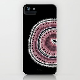 Microbe #3 iPhone Case