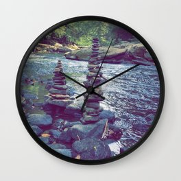 The Zen River Wall Clock