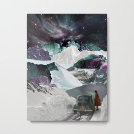 Valley of the crystals Metal Print