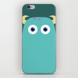 PIXAR CHARACTER POSTER - Sulley - Monsters, Inc. iPhone Skin