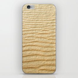 NATURAL SAND ART iPhone Skin