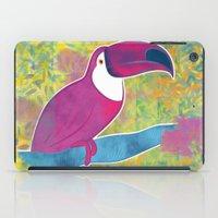 toucan iPad Cases featuring Toucan by Eliana Bertola