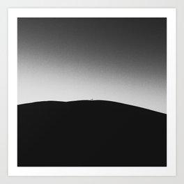 Crater Walkers Art Print