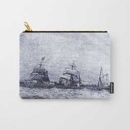 Mastery of Nature by Man Carry-All Pouch