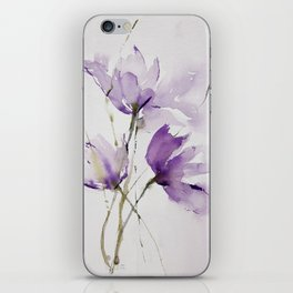 wilted tulips iPhone Skin
