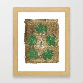 A Merlot In My Garden Framed Art Print