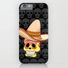 Mexico Sugar Skull with Sombrero Slim Case iPhone 6s