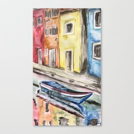 Life in Venice Canvas Print
