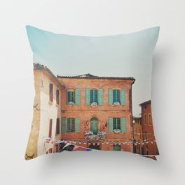 Roussillion, Provence photograph Throw Pillow