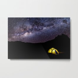 Asleep Under the Stars Metal Print