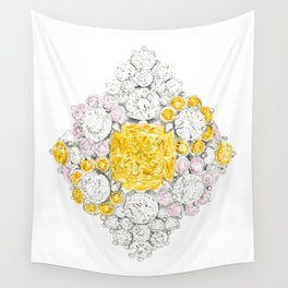 Romb Ring Wall Tapestry