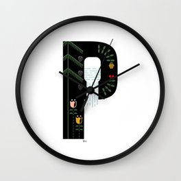 Hope - P Wall Clock