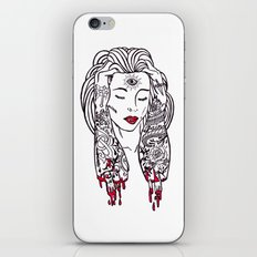 Queen of disaster iPhone & iPod Skin