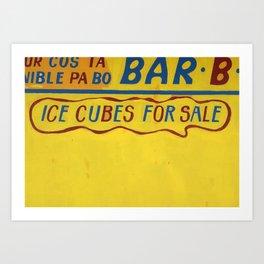 CUBES 4 SALE Art Print