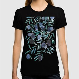 black olive watercolor 2018 T-shirt