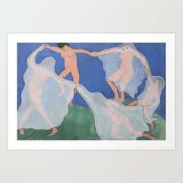 """The Ghost Dance"" / Henri Matisse Art Print"