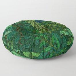 Leaf Floor Pillow