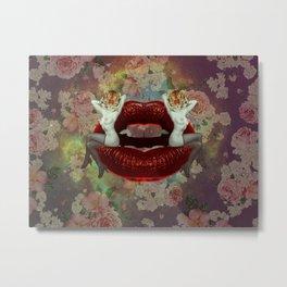 Sweet Lips Metal Print