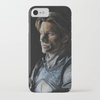 lannister iPhone & iPod Cases featuring Jaime Lannister by HevArtScenic