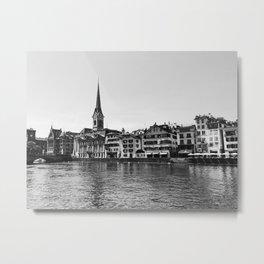Zürich View Metal Print