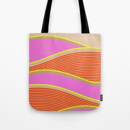 Happy Times - Flower Hills Tote Bag