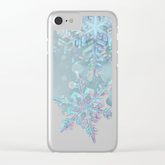 Snow is coming Clear iPhone Case