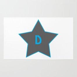 Initials | Star | D Rug