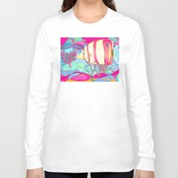 angel Long Sleeve T-shirts featuring Angel by Juliana Kroscen