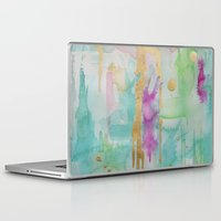 macaroon Laptop & iPad Skins featuring Mint Macaroon by Limezinnias Design