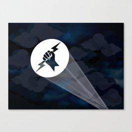 Brill-Signal Canvas Print
