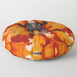 Halloween Mists Kaleidoscope Floor Pillow
