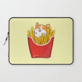 French Corgi Fries Laptop Sleeve