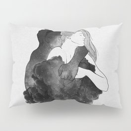 You are my peaceful heaven b&w. Pillow Sham