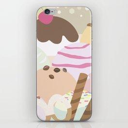 ice cream iPhone Skin