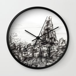 Big Thunder Mountain Wall Clock