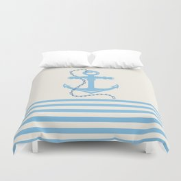 AFE Baby Blue Anchor & Chain Duvet Cover