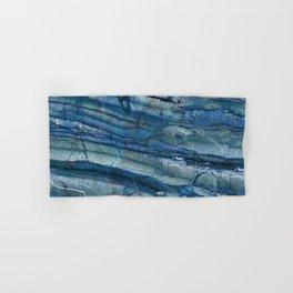 Ocean Depths Blue Marble Hand & Bath Towel