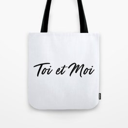 67. You and Me Tote Bag