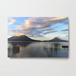 Lago Atitlan Sunrise Metal Print