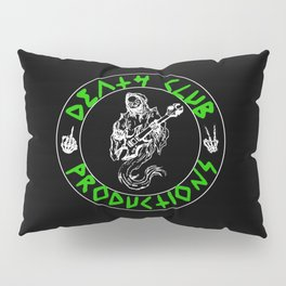 Green DCP Logo Pillow Sham