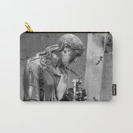 sad female statue Carry-All Pouch